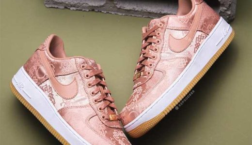 "【2020/1/21(火)海外発売】CLOT x NIKE AIR FORCE 1 ""ROSE GOLD"""