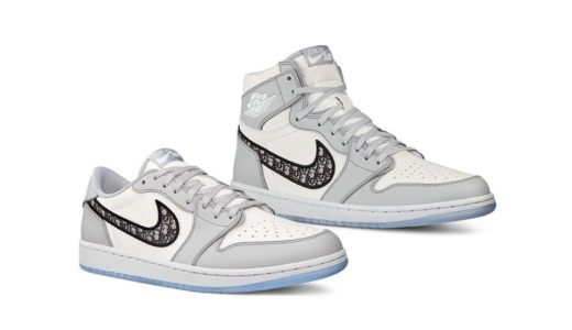 【2020/7/8(水)発売】DIOR x NIKE AIR JORDAN 1 HIGH OG & LOW OG