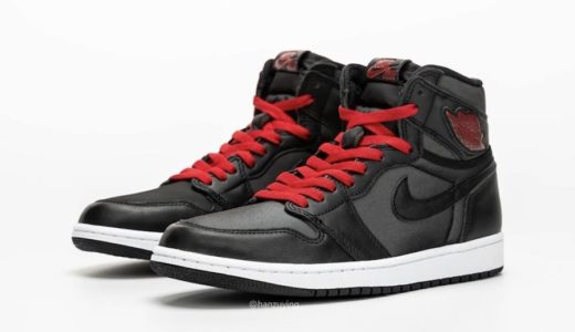 "【2020/1/18(土)発売】NIKE AIR JORDAN 1 RETRO HIGH OG ""BLACK SATIN GYM RED"""