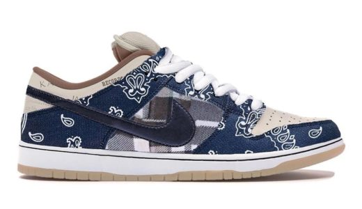 "【2020/2/29(土)発売】TRAVIS SCOTT x NIKE SB DUNK LOW ""CACTUS JACK"""
