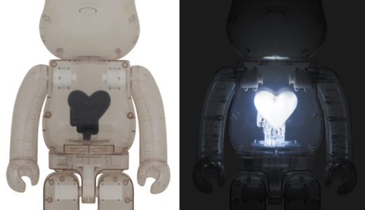 【2020/3/28(土)発売】BE@RBRICK EMOTIONALLY UNAVAILABLE Black Heart 1000%