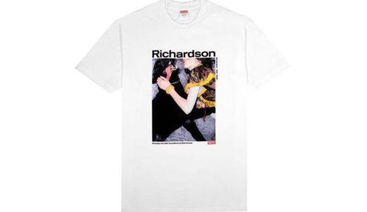 【2020/3/28(土)発売】Richardson x Supreme コラボレーションTシャツ