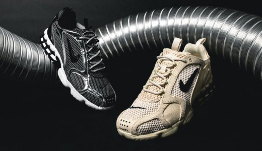 【2020/3/30まで抽選】STUSSY × NIKE AIR ZOOM SPIRIDON CAGED 2
