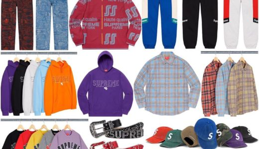 【2020/3/14(土)発売】Supreme 2020SS Week3 Supreme x THE NORTH FACE RTG