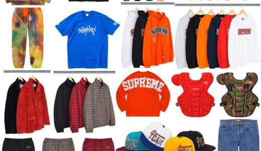 【2020/3/21(土)発売】Supreme 2020SS Week4 Supreme × Rammellzee