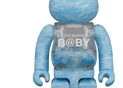 【2020/7/11(土)発売】MY FIRST BE@RBRICK B@BY WATER CREST Ver.100% & 400% / 1000%