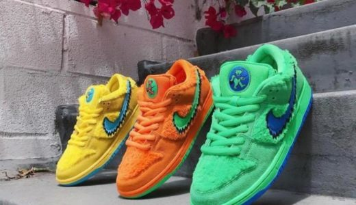 【2020/7/24(金)発売】GRATEFUL DEAD BEARS ×NIKE SB DUNK LOW