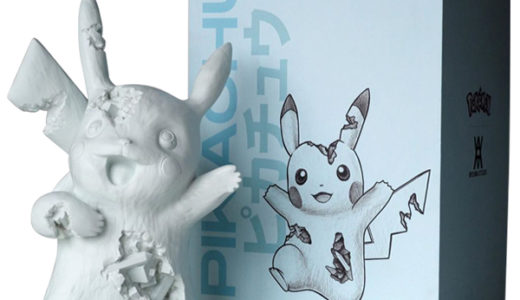 【2020/8/15(土)発売】Daniel Arsham Blue Crystalized Pikachu Resin and pigment