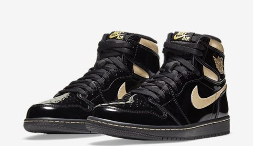 "【2020/11/30(月)発売】NIKE AIR JORDAN 1 RETRO HIGH OG ""BLACK METALIC GOLD"""