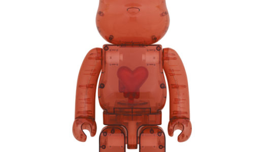【2020/12/12(土)発売】BE@RBRICK Emotionally Unavailable Clear Red Heart 1000%