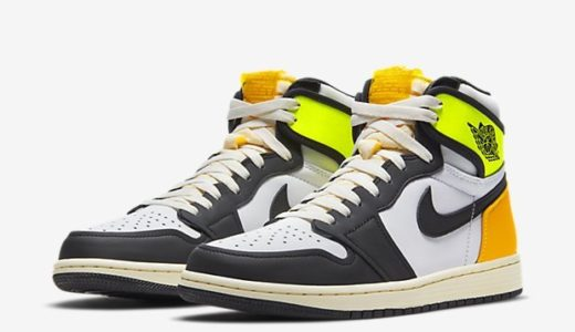 "【2021/1/16(土)発売】NIKE AIR JORDAN 1 RETRO HIGH OG ""VOLT GOLD"""