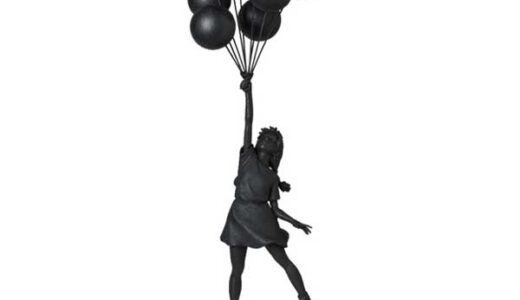 【2021/2/27(土)発売】Flying Balloons Girl(GESSO BLACK Ver.)