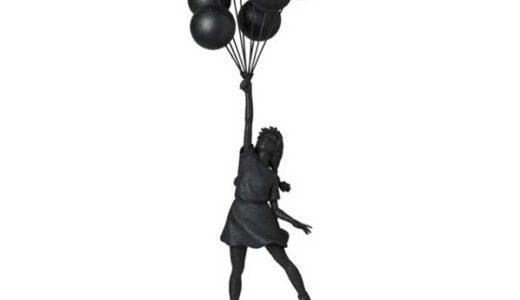 【2021/2/27(土)発売】Flying Balloons Girl(GESSO BLACK Ver.)