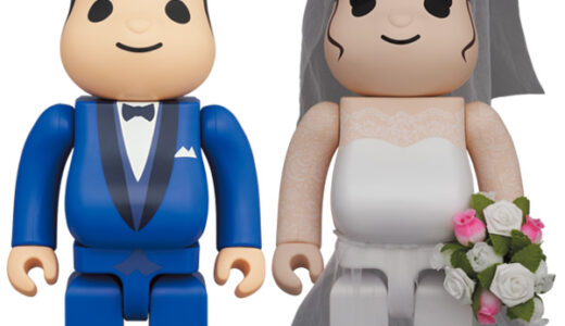 【2021/2/20(土)発売】BE@RBRICK グリーティング結婚 4 PLUS 100% / 400%