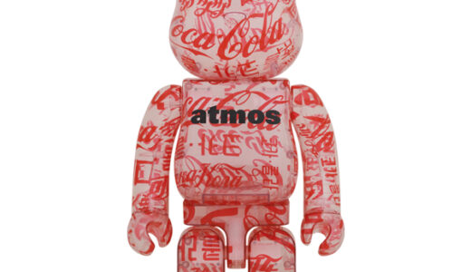 【2021/3/27(土)発売】BE@RBRICK atmos × Coca-Cola 1000% CLEAR BODY