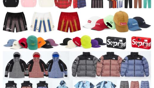 【2021/3/27(土)発売】Supreme 2021SS Week5 Supreme x THE NORTH FACE