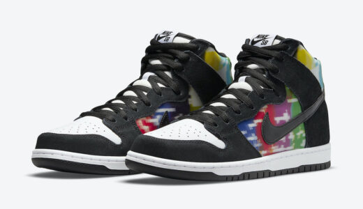 "【2021/5/5(水)発売】NIKE SB DUNK HIGH ""TEST PATTERN"""