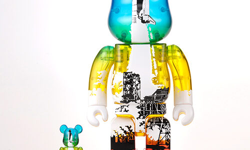 【2021/4/1〜抽選】SPACE SHUTTLE BE@RBRICK LAUNCH Ver. 100% & 400%