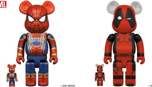 【2021/5/1(土)発売】BE@RBRICK IRON SPIDER 100% & 400% / 1000%、BE@RBRICK DEADPOOL 100% & 400% / 1000%