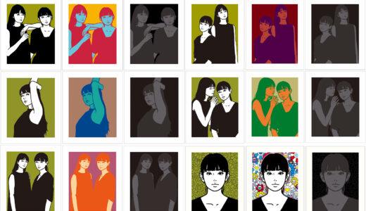 【2021/6/1(火)発売】KYNE「Untitled A〜R」展示販売会