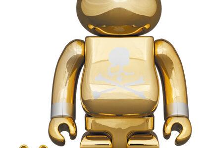 【2021/7/22(木)発売】BE@RBRICK mastermind JAPAN GOLD 100% & 400% / 1000%