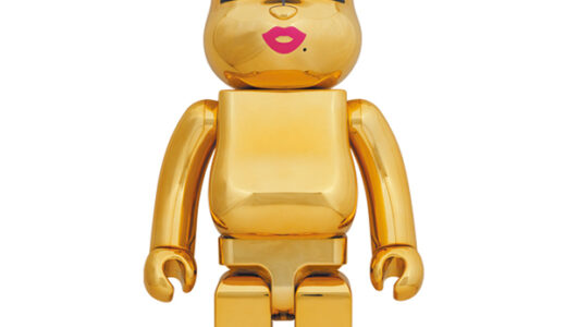 【2021/7/26(土)発売】BE@RBRICK SORAYAMA × 2G GOLD Ver. 1000%